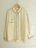 ベルギー レディース bellerose woman ベルローズウーマン ビスコースパジャマシャツ