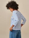 【7月16日午前10時終了】【タイムセール10%OFF】[21SS]bellerose woman レディース ボーダーTシャツ・七分袖