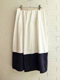 ベルギー bellerose woman ベルローズウーマン バイカラーロングスカート