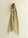 bellerose woman ベルローズウーマン ドットシルクスカーフ