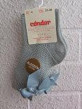 スペイン靴下ブランド CONDOR コンドル 靴下・タイツ リボンコットンニットソックス