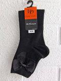 フランス老舗靴下ブランド DOREDORE ドレドレ オーガンジーリボンソックス