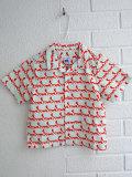 ベルギー子供服 fred+ginger フレッドアンドジンジャー フォックスプリントシャツ
