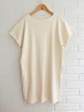 スペイン バルセロナ リトルクリエイティブファクトリー LITTLE CREATIVE FACTORY ソフトリブスウェットTシャツドレス