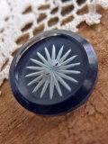 パリ蚤の市・クリニャンクール デッドストックアクセサリー パリのアクセサリー ガラスボタン