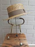 フランス老舗帽子ブランド Willys ウィリーズ 帽子メーカー キャノチェ  カンカン帽
