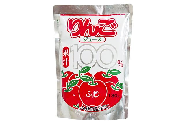 秋田産 りんごジュース フジ果汁100%