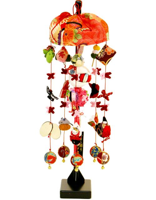 【雛人形】久月作 「まり花 うさぎ」吊るし雛 飾り(FHS-93)