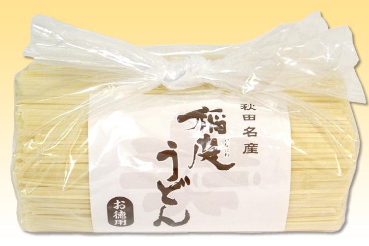 稲庭うどん 徳用切り落とし1kg(HO-1kg) ポイント10倍 【秘密のケンミンSHOW 全国うどんサミット】
