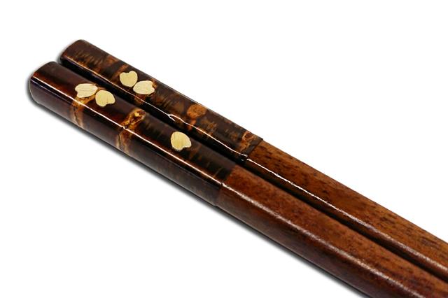 樺細工,箸