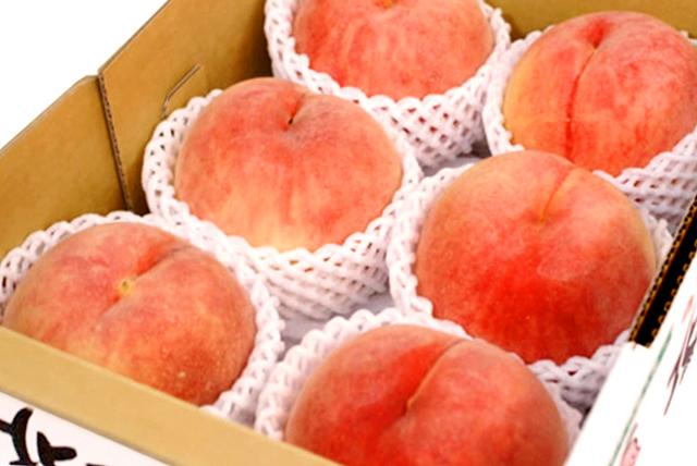【お届け日指定不可】 秋田県産 JAかづの「北限の桃」 約2.5kg(6~9玉入)【出荷期間:9月上旬~9月下旬まで】