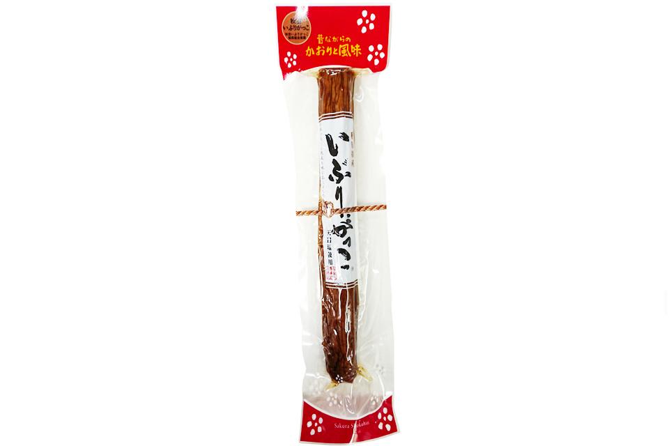 いぶりがっこ 秋田の漬物 一本漬け(Lサイズ) 桜食品