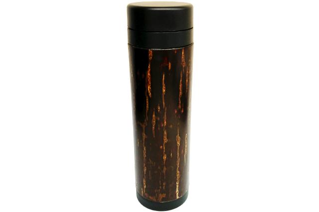 樺細工(桜皮細工)ボトル 水筒