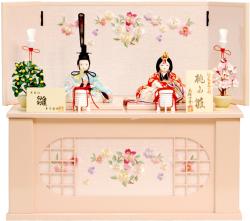 雛人形,木目込み,20-26