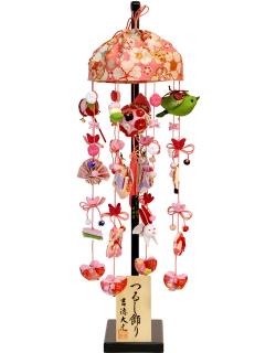 【雛人形】吉徳大光 「吊るし雛 吉野桜」 (351-727)
