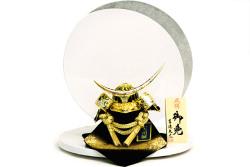 【五月人形】吉徳大光作 正絹「伊達政宗兜」平飾り(736-970)