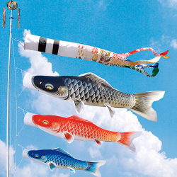 鯉のぼり,積美画