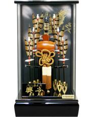 【破魔弓】久月作 「興安」 ガラスパノラマケース飾り(252013)