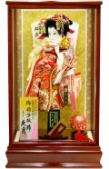 当日発送可:【羽子板】久月作  初音 彩美ケース飾り(15121-1)
