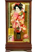 当日発送可:【羽子板】久月作  春彩ケース飾り(15142-1)