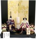 【雛人形】吉徳大光 「立姿雛」 親王平飾り(305-321)
