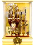 【破魔弓】久月作 家紋「光輝」 アクリルケース飾り(351710)