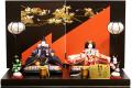 【雛人形】千匠作 本仕立「雛ごよみ」 二人親王飾り (41A-306)
