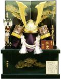 五月人形,着用兜収納,会津塗,508ou