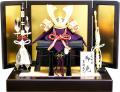 【五月人形】吉徳大光作 正絹「御兜」平飾り(536-244)