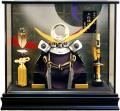 【五月人形】吉徳大光作 特選伝統工芸「上杉謙信兜」ケース飾り(537-153)