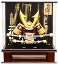 【五月人形】吉徳大光作 「大鍬形兜」アクリルケース飾り(540-917)