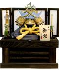 【五月人形】伯峰監修  「愛 直江兼続」 収納飾り(552299-43)