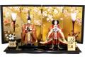 【雛人形】吉徳大光 「立姿雛」 親王平飾り(605-751)