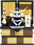 【五月人形】吉徳大光作 正絹「上杉謙信兜」収納飾り(736-960)