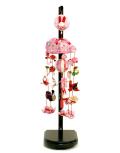 【雛人形】久月作 花音「オルゴール吊るし雛」 飾り(FHS-72)