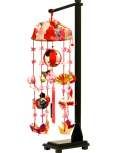 【雛人形】久月作 「まり花 ピンク」吊るし雛 飾り(FHS-92)
