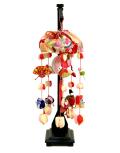 【雛人形】久月作 花ふうせん「吊るし雛」 飾り(FHS-94)