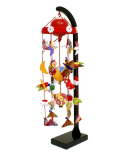 【雛人形】 リモコン回転式 吊るし雛飾り(H450)