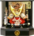 【五月人形】久月作 家紋「御兜」アクリルケース飾り(K51138)