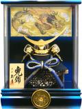 【五月人形】久月作 家紋「伊達政宗 兜」アクリルケース飾り(K512100)