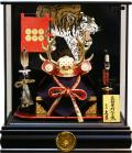 【五月人形】久月作 家紋「真田幸村 兜」ケース飾り(K517139)