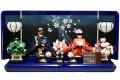 【雛人形】久月xタカラトミー「クリスタル リカちゃん雛人形 プレミアム」親王飾り シリアルNo.入り(RI-2722)