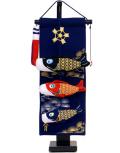 【五月人形】久月作 「室内 鯉のぼりタペストリー」吊るし飾り(TAK-01)