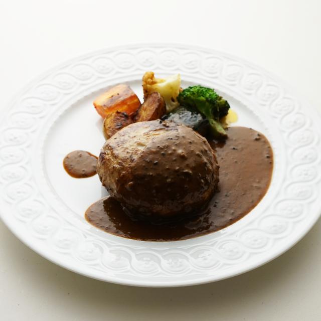 東京ハンバーグ、ヒマラヤトリュフソース