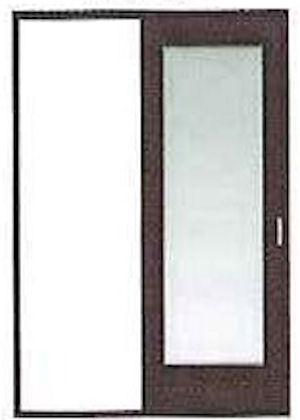 * PAL 片引戸セット DM-H2-22(L) (ケーシング枠113幅用) *