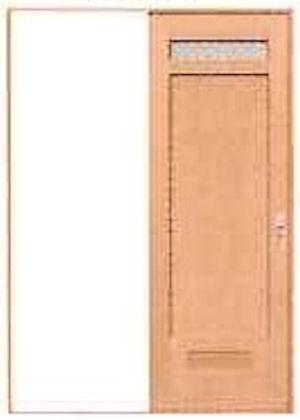 * PAL サニタリー用片引戸セット EN-H2-37(L) (固定枠152幅用) *