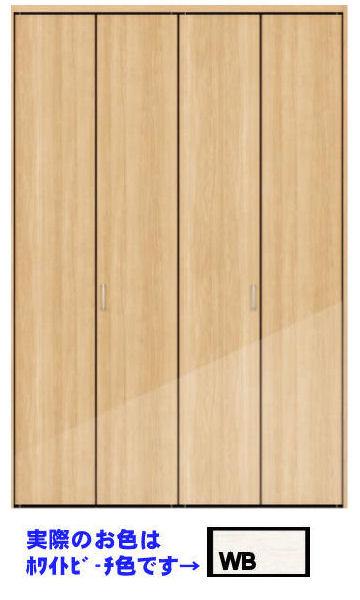 * 永大 クローゼット折れ戸       固定三方枠 下レールあり 0.75間×8尺 VXD-Y523FWB(B品)  *