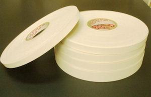 *ホワイトポリ木口テープ(粘着タイプ)* 15mm幅 M単位