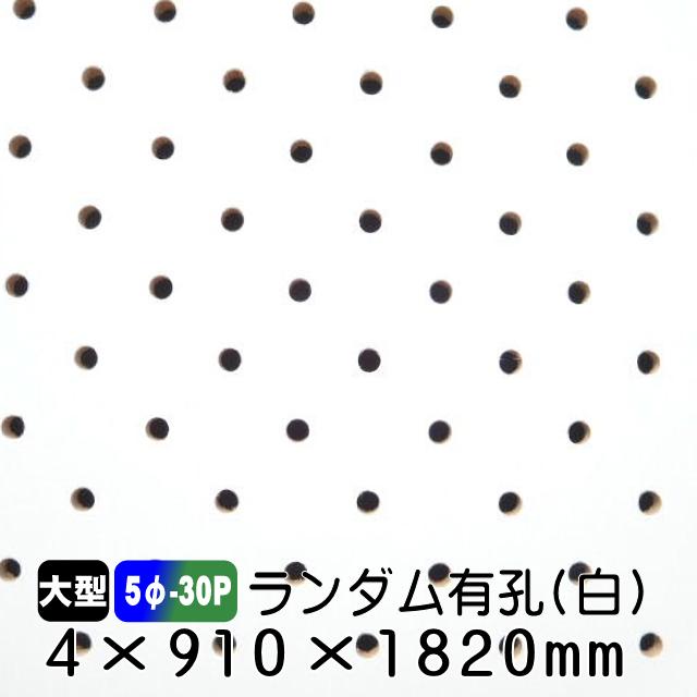 有孔ランダム5-30 黒 白
