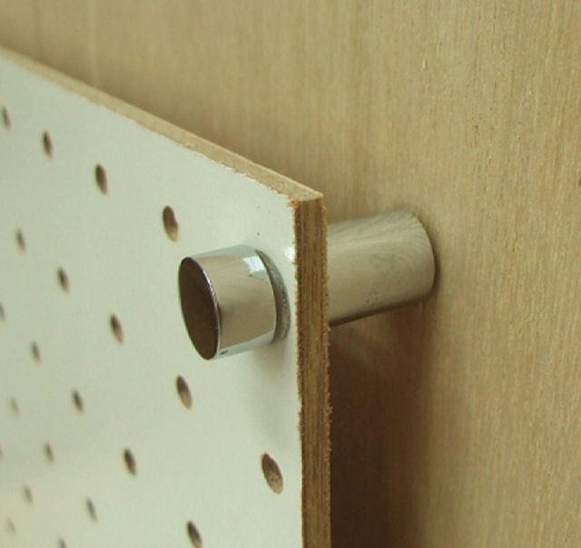 *有孔ボード用 取付金具(木用)* 有孔ボード用 取付金具(木用) 1本